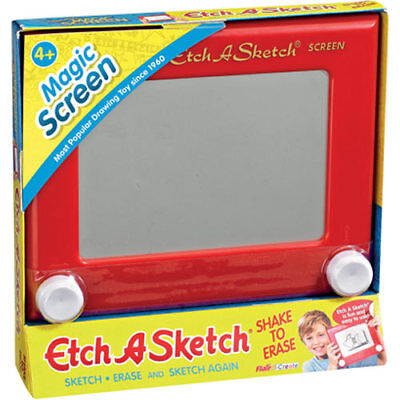 Classic Red Etch A Sketch Drawing Toy