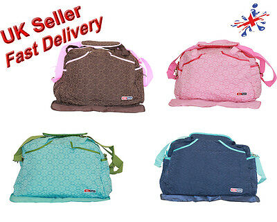 Large 2 Pcs Nappy Diaper Changing Bags Set- Value for Money ( IN Multi-Colours)