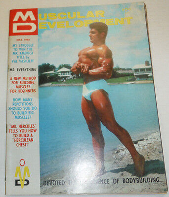 Muscular Development Magazine Val Vasilieff May 1965 112114R