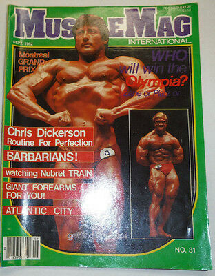 Musclemag Magazine Frank Zane & Platz September 1982 112114R1