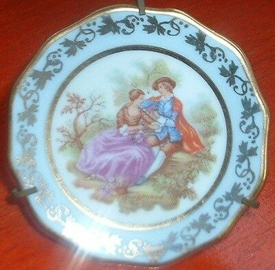 MEISSNER LIMOGES FRANCE SMALL PORCELAIN/ CHINA TRAY
