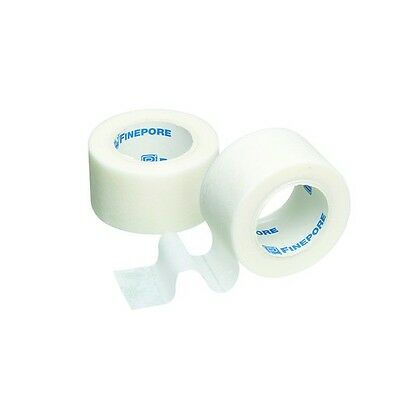 FINEPORE Surgical Tape 1.25cm x 9.1m *Cheapest On Ebay* Choose Quantities