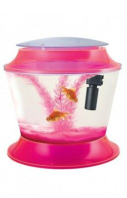 Fish R Fun, Fish Bowl Kit Pink - Plastic 17 Lit