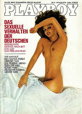 Playboy 08/1978    CHRISTINE STRATOWA*     August/1978