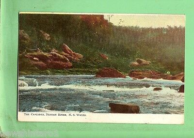 #A. Postcard - The Cascades, Nepean River, Nsw