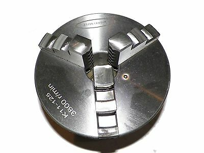 "Z LIVE CENTER 5"" ( 5 inch) 3 Jaw Lathe Chuck  Precision Self Centering"
