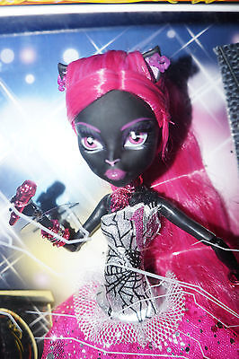 New VHTF Limited Edition Friday the 13th Monster High Doll Catty Noir