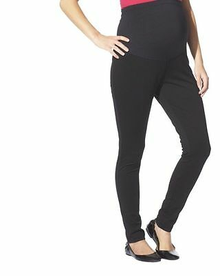 New Womens Maternity Leggings Black Liz Lange Flex Ponte NWT Sz Size M Pants