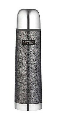 Thermos Thermocafe 0.5 Litre Stainless Steel Hammertone Flask - Type : NEUF