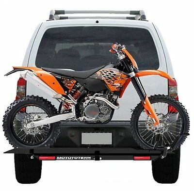 Mototote Moto Tote Dirt Bike Motorcycle Carrier Hitch Rack Ramp Led Light Kit