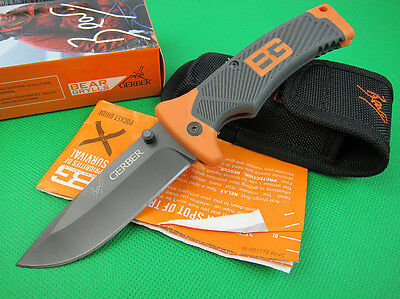 Folding Lockback GB Knife camping Fishing outdoor hunting tool saber k137t