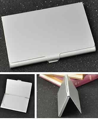 Useful Stainless Steel Pocket Business Name Credit ID Card Holder Metal Box Case