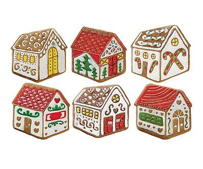 Tovolo Gingerbread House Cookie Cutter & 6 Design Stamps Set Christmas Holiday