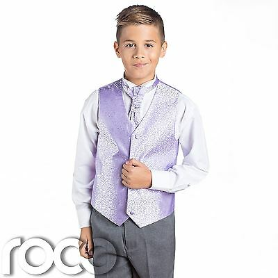 Boys Lilac & Grey Suit, Page Boy Suits, Boys Wedding Suits, Boys Suits, Swirl