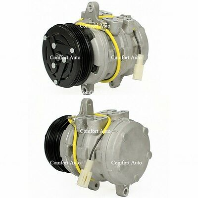 Brand New A/C AC Compressor With Clutch Replaces: Nippondenso 10P08E 4 Grooves