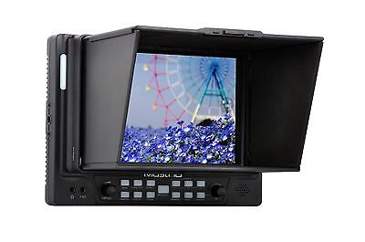"MustHD M701H - New 7"" inch on-camera Video-assit Field Monitor with HDMI I/O"