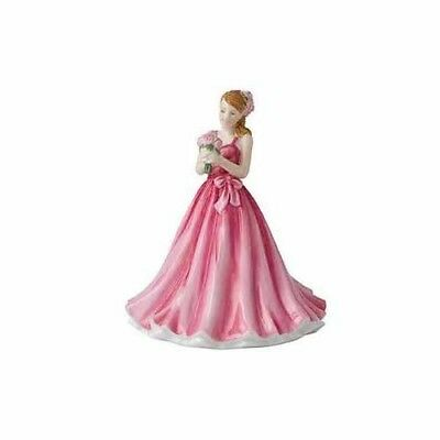 Royal Doulton Flower of the Month May Peony Figurine DISCONTINUED