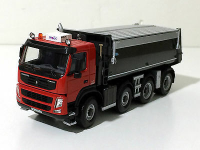 "WSI TERBERG-VOLVO 2000T TIPPER  4AXLE ""RED"""