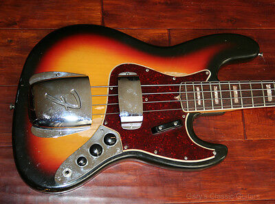 1966 Fender Jazz Bass (#FEB0284)