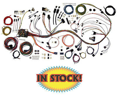 21 circuit ez wiring harness mini fuse chevy ford hotrods american autowire 1969 72 chevy pickup truck wiring harness kit 510089
