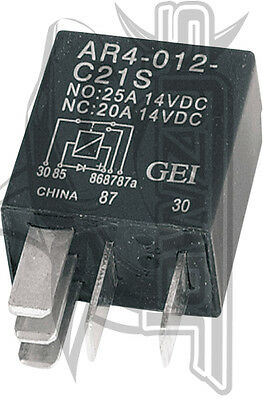 Micro Relay with Diode (sold each) Drag Specialties  MC-DRAG043