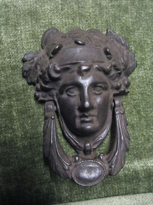 door knocker hardware medusa head brass