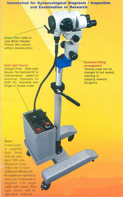 Colposcope Portable 3 Step Magnification & Accessories CM 1000 FREE SHIPPING