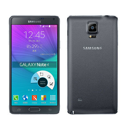 samsung galaxy note 4 32go noir t l phone portable. Black Bedroom Furniture Sets. Home Design Ideas