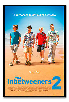 Framed Official The Inbetweeners 2 Neil Will Simon Jay One Sheet Film Poster