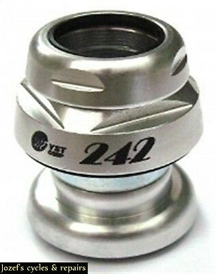 THREADED BICYCLE HEADSET 1''inch ALLOY  27.0 mm crown race RACERS COMPATIBLE