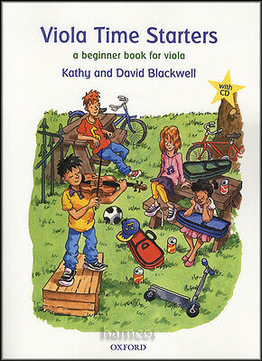 Viola Time Starters Beginners Learn How to Play Music Book & CD