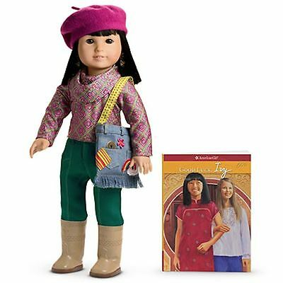 New American Girl Ivy 18 Inch Doll, Book & Accessories