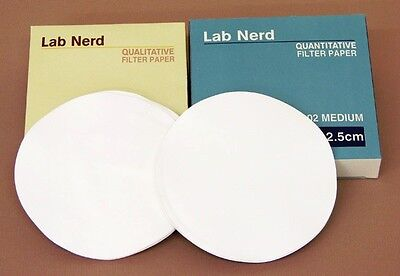 Filter Paper Smooth Quantitative Fast 15 cm 150mm Pack of 100,  (201)
