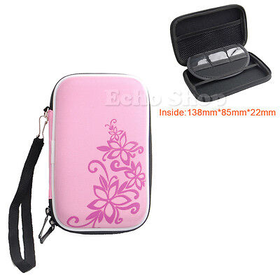 "2.5"" EVA Hard Case Pouch For WD Elements Exclusive Portable External Hard Drive"