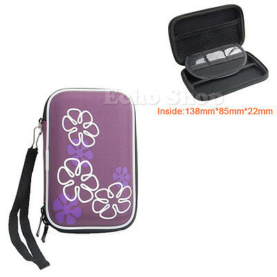 "2.5"" EVA Hard Case Pouch For WD My Passport Air Portable Hard Drive for Mac"