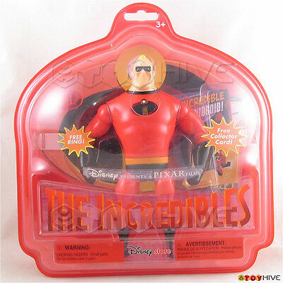 Disney Pixar the Incredibles Mr Incredible figure ring price tagged stickers