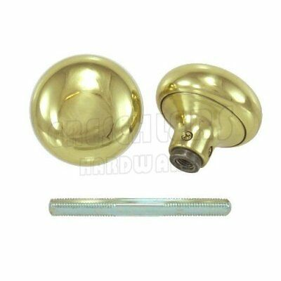 "2-1/4"" Solid Brass Door Knob Set"