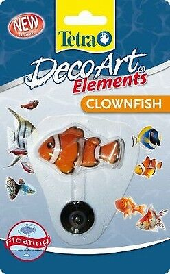 Tetra Aquarium Decoart Elements Poisson Clown - TETRA-TETRA -DecoArt NEUF