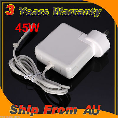 "45W Power Adapter Charger for Apple MacBook Air 11"" 13"" A1244 A1369 A1304 3.1A"