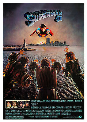 Superman 2 V2 - A1/A2 Poster **BUY ANY 2 AND GET 1 FREE OFFER**