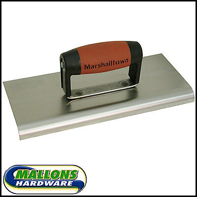 "Marshalltown M192SS Cement Edger Edging  Steel Durasoft Handle 10"" x 4"""