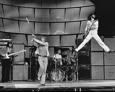 The Who Rock Band 8X10 Glossy Music Photo Rare Picture - Must Have!
