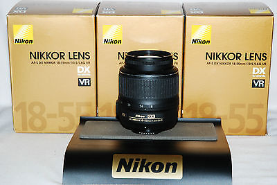 Mint Boxed Nikon DX Zoom Lens 18-55 AF-S G VR for Digital SLR D3100 D5100 D3300