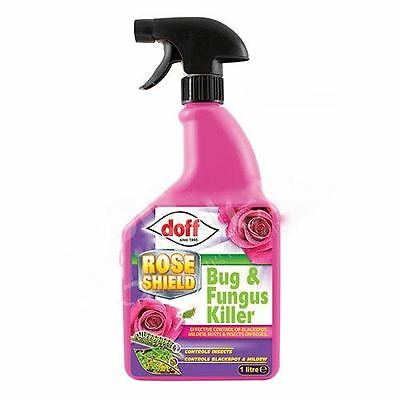 Bug and Fungus Killer- Doff Rose Shield- Pest Control Insecticide Fungicide 1L