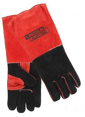 Lincoln Electric Welding Gloves Leather Brown Men's Large Pair