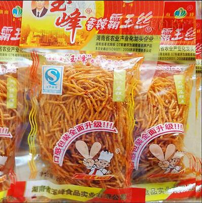 15X26g 390g/Order Chinese Snack Specialty Spicy food Gluten 玉峰 香辣霸王丝 辣条面筋 Yufeng