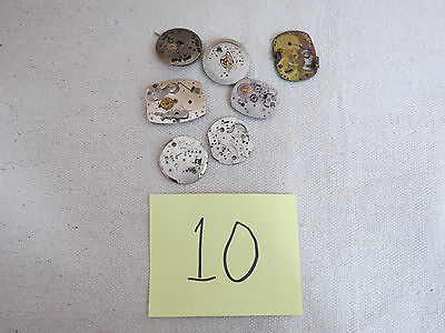 Watch Parts Medium Jeweled Workings for Altered Art Jewelry Making Steam Punk