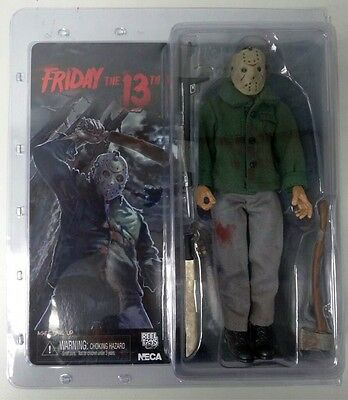 Friday The 13th Retro Jason Voorhees 8in Action Figure NECA Toys