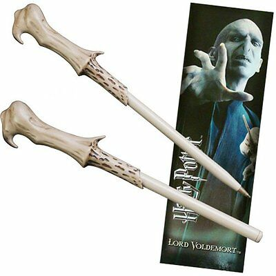 Harry Potter Movie Character Voldemort  Mythical  Magic Wand Pen Bookmark Toy