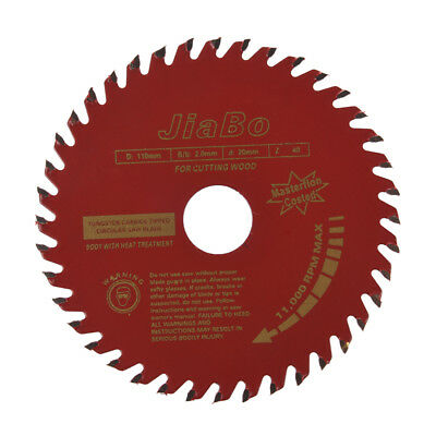 110mm Diameter 40T Rotary T.C.T Metal Saw Blade For Wood Cutting PK